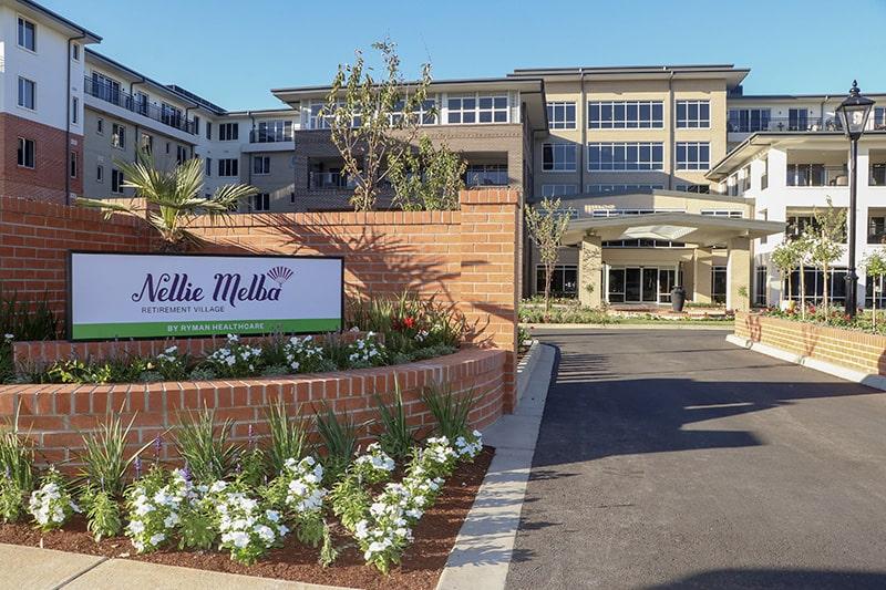 Nellie Melba front gate