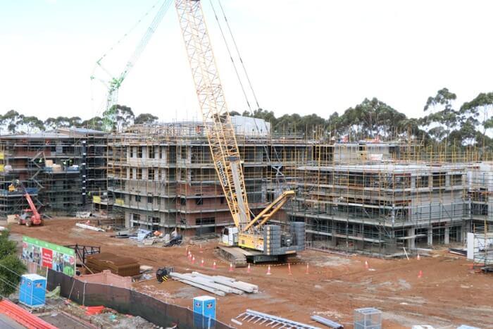 Nellie Melba building site