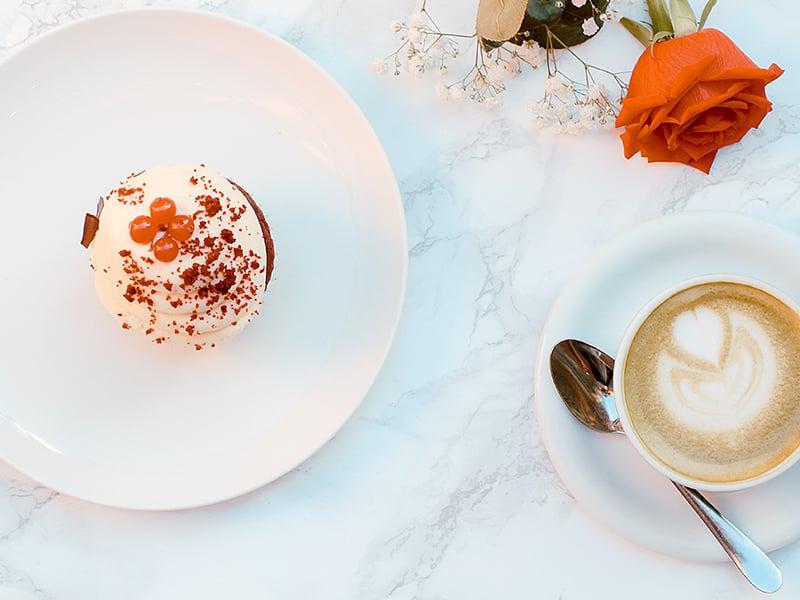 Red Velvet Cake in a Mug - small