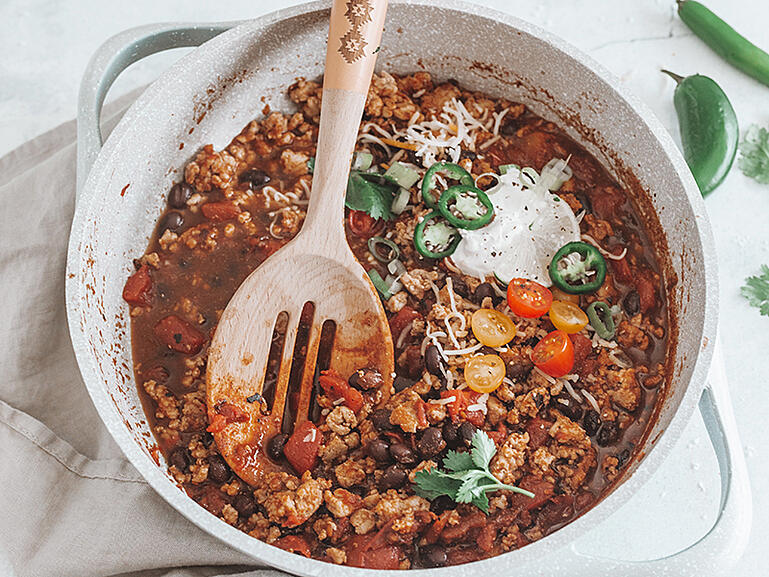 Spiced Lentils in a Mug